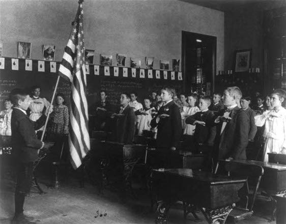 The Pledge of Allegiance. . .  A little history lesson
