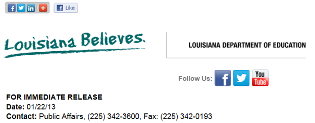 Introducing: Louisiana Believes Anything (1/4)