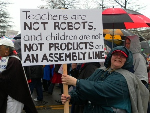 Teachers-are-not-robots