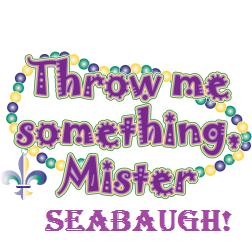 thrown me something